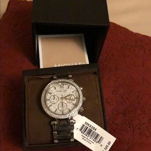 Michael Kors watch in box with tags like new
